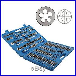 110PCS Tungsten Steel Metric Tap and Die Combination Set Metric Coarse Fine Size