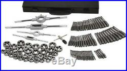 110 PC Tap and Die Set SAE to 3/4 & 18MM Warranty Both Coarse and Fine 53310