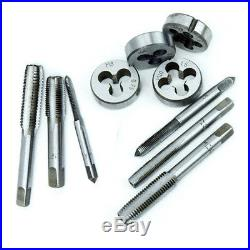110 Piece Combination Tap And Die Set Screw Extractor Remover with Case