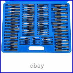 110pc Tap and Die Combination Set Metric Threading Chasing Repair Tool Kit