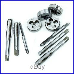 110pc Tap and Die Combination Set Tungsten Steel Titanium SAE and Metric Tools