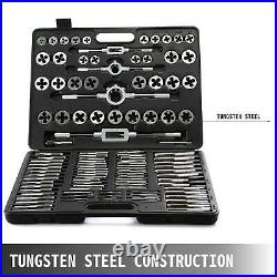110pcs Tap And Die Set Tungsten Steel Titanium Tap And Die Combination Set