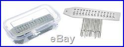 15pc German Type Tap & Die Set Watch Repair Jewelers Machinist Tool
