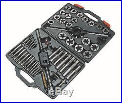 1X Laser Tools Tap And Die Set Mm 51Pc Workshop Garage Handy Precision Work