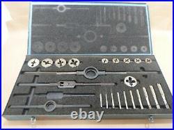 23 Piece Tap & Die Set 1/4-20 Thru 1-8 (made In Usa) Trw Gtd 5180-00-448-2362