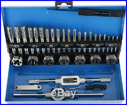 32pcs Tap and Die Sets Metric Hardened Steel Thread Cutting Edge Tool Kit M3-M12