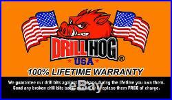 40 Pc Tap & Die Set Metric Tap Set MM Titanium Lifetime Warranty Drill Hog USA