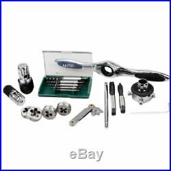 40 Piece Metric Ratcheting Tap and Die Drive Tool Set M3 to M12