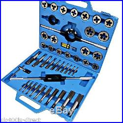 45pc Jumbo AF Imperial SAE Tap And Die Set National Coarse & Fine Tungsten