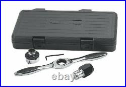 4 Pc Ratcheting Tap and Die Drive Tool Set