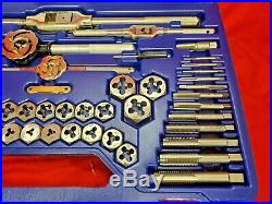 53 Piece Metric Tap and Hex Die Set Irwin Hanson 26394 USA Made 3MM to 18MM