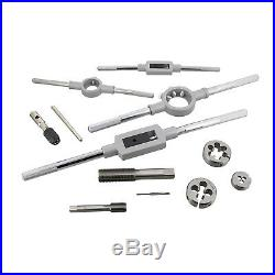 ABN Thread Tap and Die Set Metric Tap and Die Rethreading Tool Kit 110-Piece