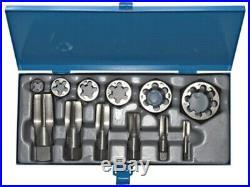 ALFA TDS66012NPT 12 Piece Carbon Steel NPT Tap & Die Set