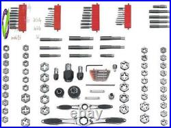 Arwrench 114 Pc. Ratcheting Tap And Die Set, Sae/Metric 82812