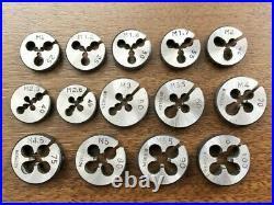 BERGEON Tap & Die Set Watchmaker Tool Vintage Good Condition Swiss Made