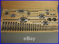 BICO Metric Tap & Die Set 46 Piece Carbon Steel, M20-M3, West Germany