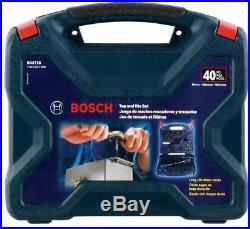 BOSCH B44717 40pc Tap & Die Set Black Oxide NEW withFull Warranty