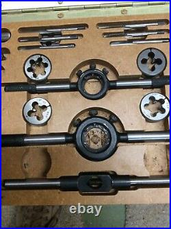 BSF And BA Tap And Die Set 3/16 To 1/2 30 Pieces, Taper & Bottom Taps & Dies