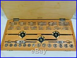 Bergeon 30418 Watchmaker Tap and Die Set In Original Carrying Case