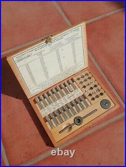 Bergeon Large set of Taps and Dies 30010 Watchmaker Tools