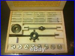 Bergeon Watchmakers Tap & Die Set 30322