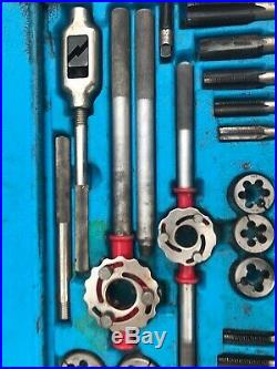 Blue Point By Snap On 25 Peice Set TD9902A Tap And Die Set SAE Course & Fine