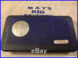Blue Point Metric Tap & Die Set TDM-117 USA made