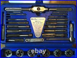 Blue Point Metric Tap & Die TDM-117 Set with case. Used