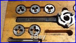 Blue-Point Snap-On 1 Double Hex Self-Centering TD-10A Tap Die Set