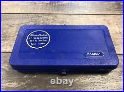 Bluepoint 41pc Metric Tap + Die Set 3mm-12mm Gam541