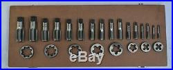 Brand New British Standard Pipe Tap & Die Set 1/8 To 1 Bsp Bspp Tap Die Set