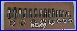 Brand New British Standard Pipe Tap & Die Set 1/8 To 1 Bsp Bspp Tap Die Set@cf