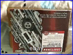 Brand New CRAFTSMAN 50 pc Pieces piece SAE Metric TAP DIE SET Pipe 52381 sealed