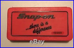 Brand New Snap-On Tools 41 Piece SAE Tap and Die Set TD-2425 BRAND NEW