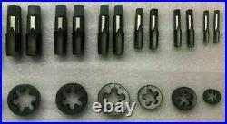 British Standard Pipe Tap & Die Set Bsp Bspp Tap Die Set 1/8 To 3/4 6 Size