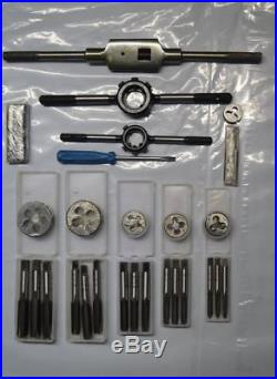 Bsc Bscycle Bscy Cei Tap And Die Set British 26 Tpi Motorcycle Tools New