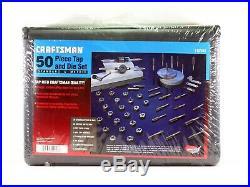CRAFTSMAN 50 PC SAE Metric Tap & Die Set 52381 NOS USA Brand New