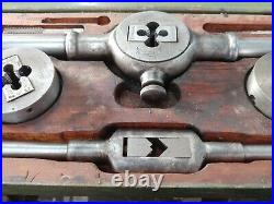 Complete Vintage Greenfield Little Giant No. 5 Tap and Die Set in Original Box