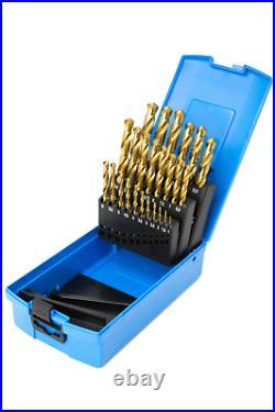 Craft Pro by PRESTO M6-M24 Metric Tap & Die Set & PRESTO 1.0-13mm Tin HSS Drills