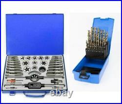 Craft Pro by PRESTO M6-M24 Metric Tap & Die Set & PRESTO 1-13mm Cobalt Drill Set
