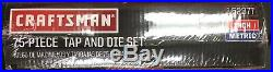 Craftsman 75 Piece Tap & Die Set 952377-NEW-NOT REFURBED-ORIG FACTORY SEALED