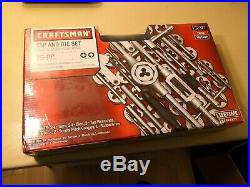 Craftsman 75 Piece Tap Die Set SAE Metric 952377 pitch gauge wrench npt pipe