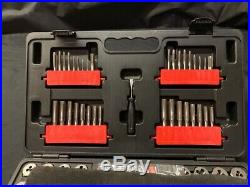 Craftsman 75-pc Tap & Die Carbon Steel Set Inch and Metric (AO1038884)
