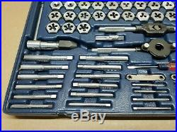 Craftsman 76 Piece Tap & Hexagon Die Set Metric & Sae Made In The USA