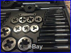 Craftsman HSS 59 piece Mechanics Standard SAE tap and die set 9-52115 USA