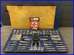 Craftsman Kromedge 95210 51 Pc. Tap & Hexagon Die Set American Standard Metric