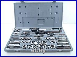 Craftsman Kromedge #9-52096 Mechanics 59 Piece Metric Tap & Die Set Used incompl