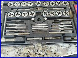 Craftsman Mechanics Tap And Die Set Nc & Nf, Made In USA