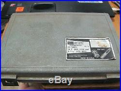 Craftsman Metric Kromedge Tap & Die Set 48 Pc 52008 47 Pcs USA Made