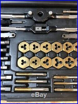 Craftsman Professional 38 Piece Tap And Die Set Titanium Coated HSS